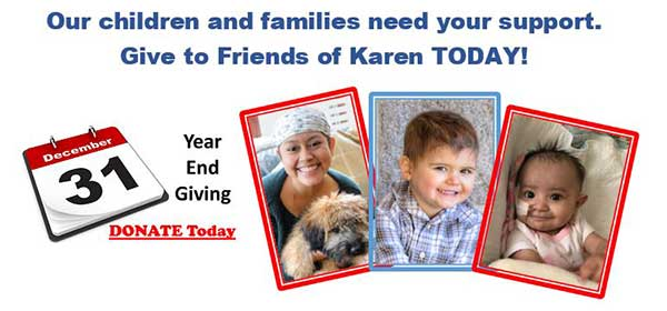 Friends of Karen End of Year Appeal